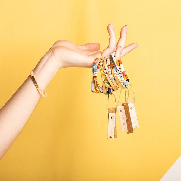 Scout Curated Wears Good Karma Miyuki Bracelet - Be Fierce
