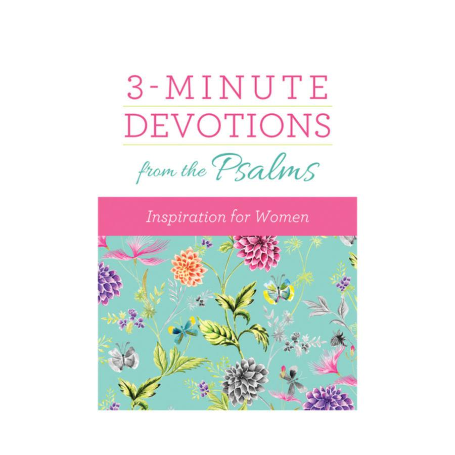 3-Minute Devotions from the Psalms - Inspiration for Women