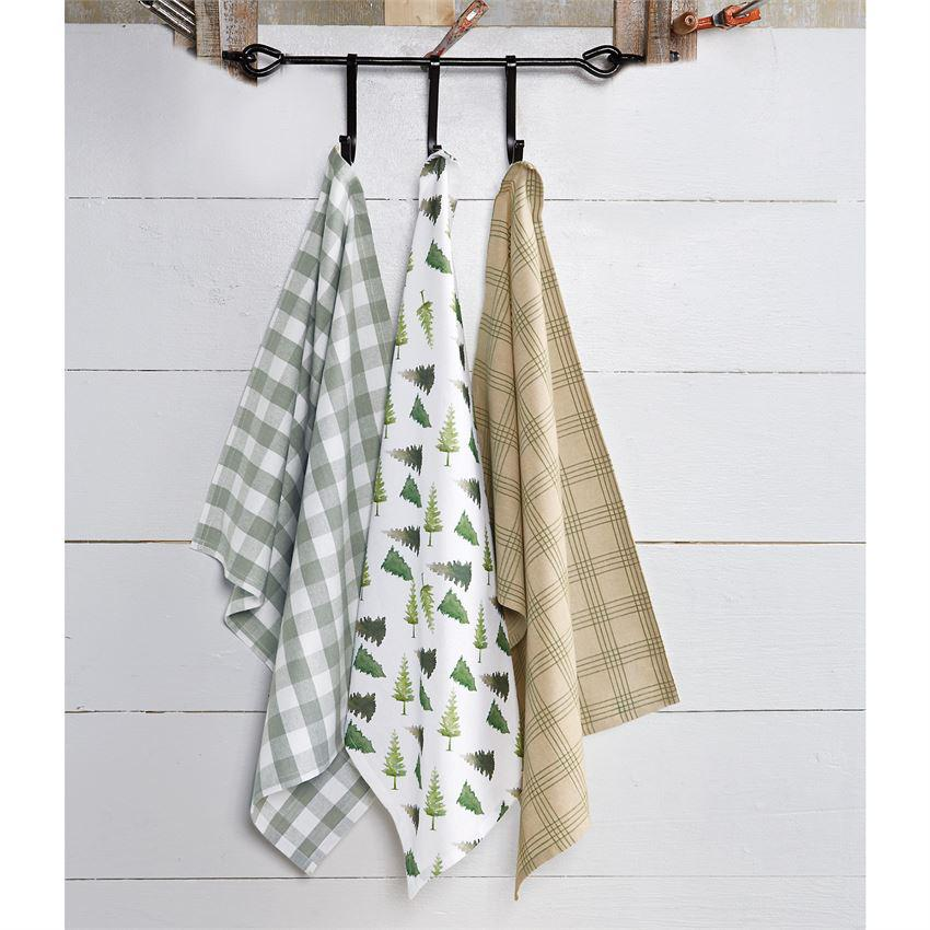 Mud Pie Fall Dish Towel Set