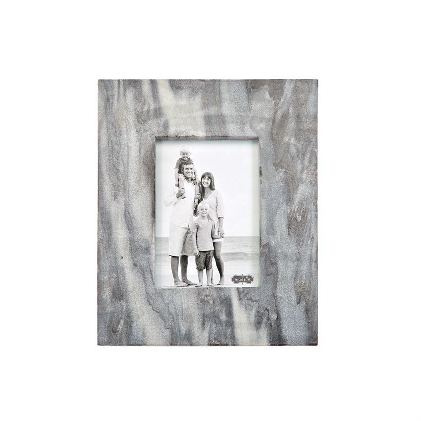 Mud Pie Large Gray Marble Picture Frames - Crane/Boerma Registry