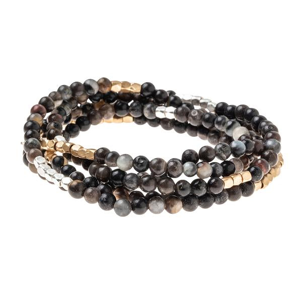 Scout Curated Wears Stone Wrap Bracelet/Necklace - Picasso Jasper