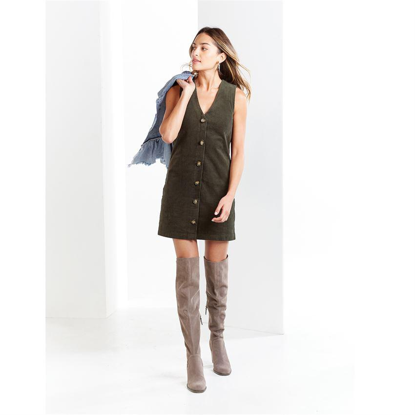 Mud Pie Andi Corduroy Sleeveless Dress