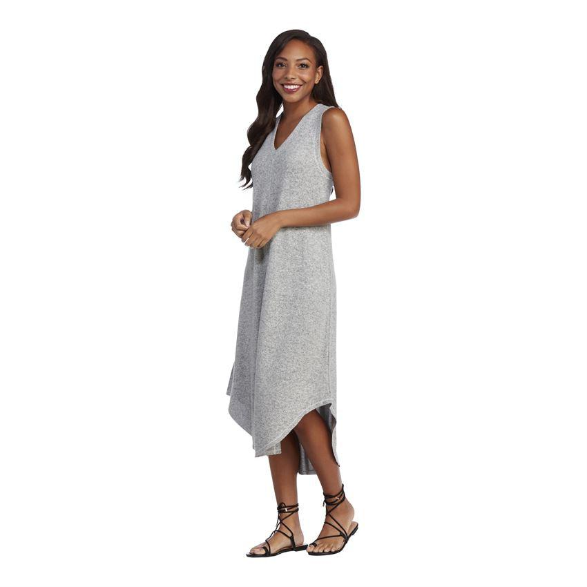 Mud Pie Nash Midi Dress - Gray