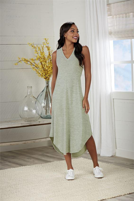 Mud Pie Nash Midi Dress - Sage