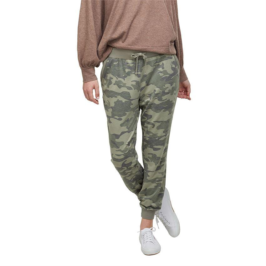 Mud Pie Fanning Jogger - Green Camo