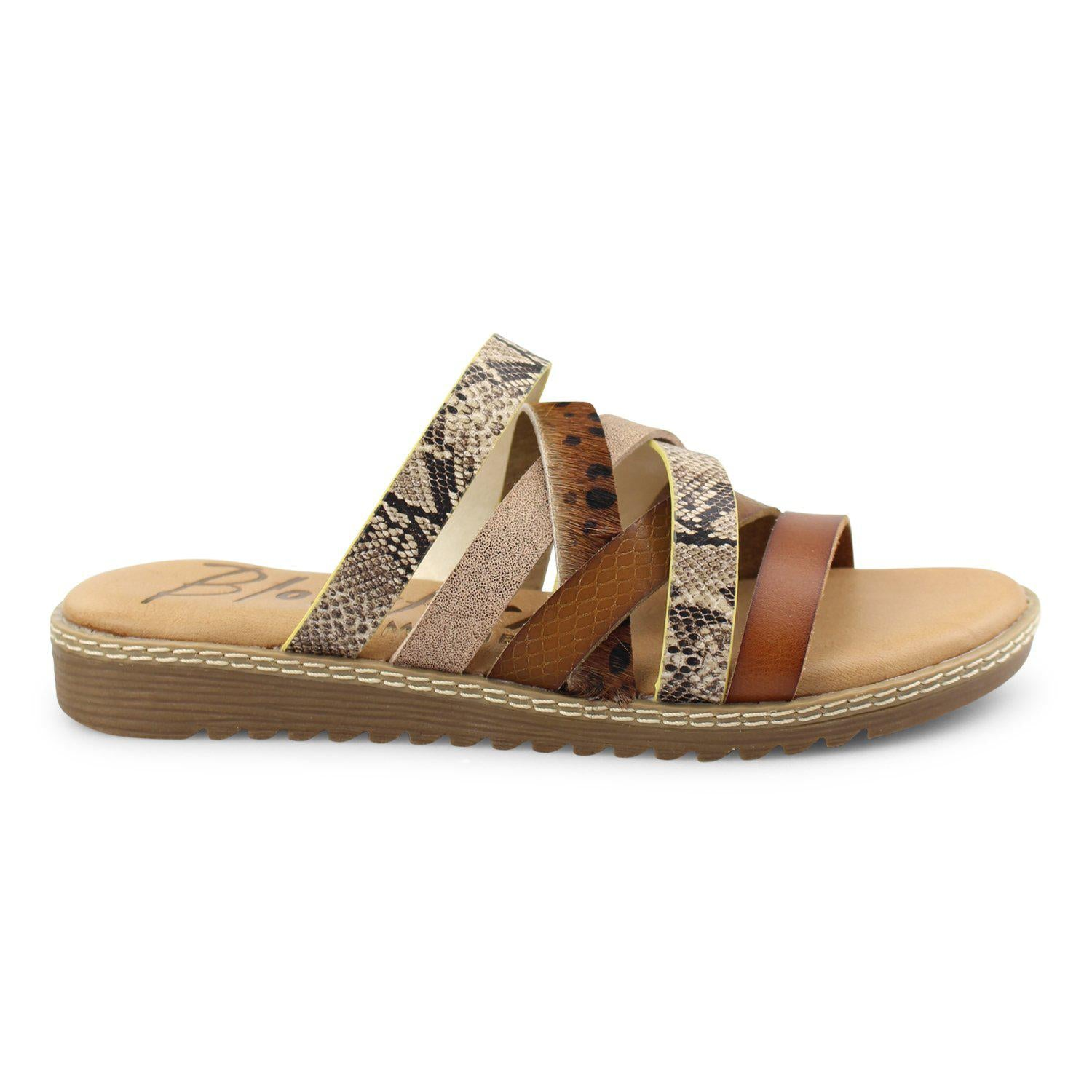 Blowfish Orrah Sandal - Scotch/Brown Leopard