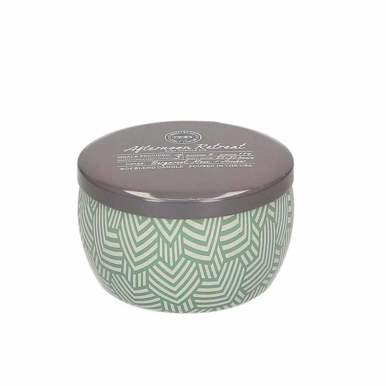 Afternoon Retreat Mini Candle Tin #127