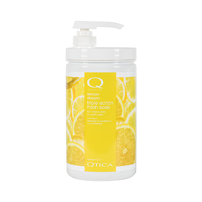 Qtica Smart Spa Lemon Dream Triple Action Fresh Soak - 32 oz