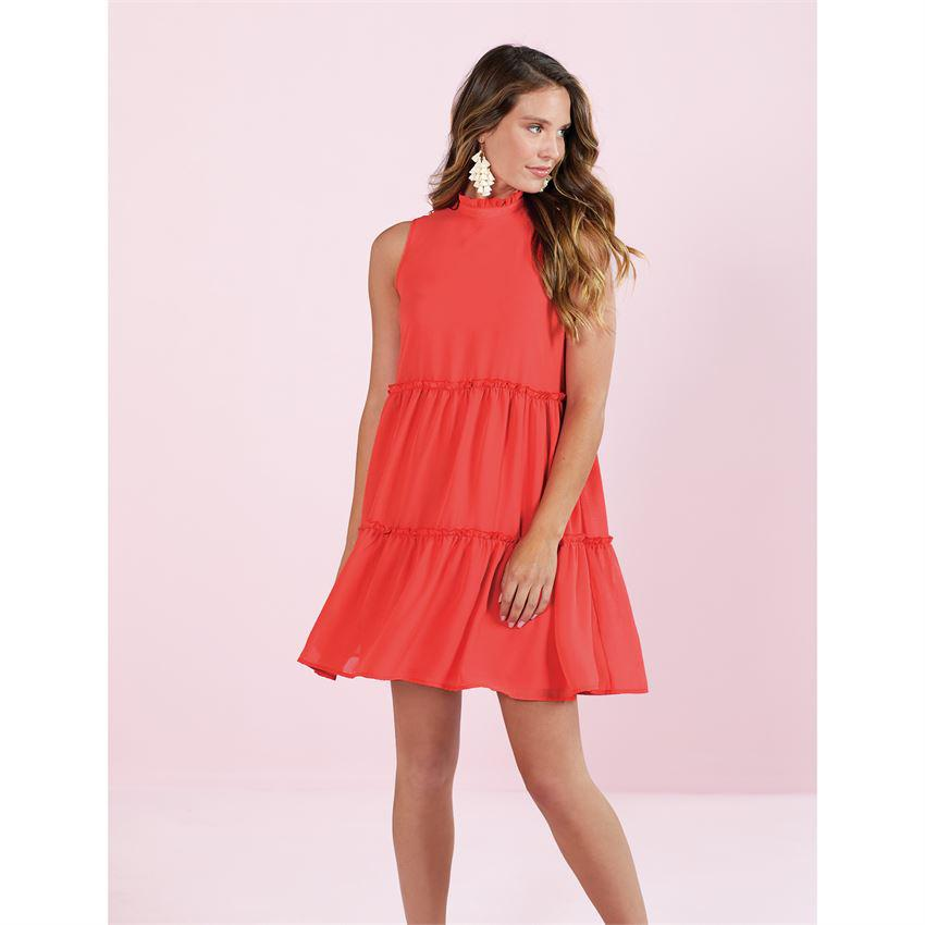 Mud Pie Naomi Ruffle Dress