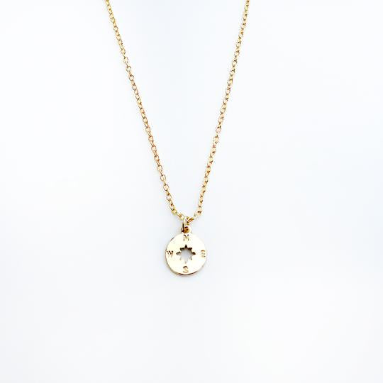 Amazing Mom Necklace - Compass