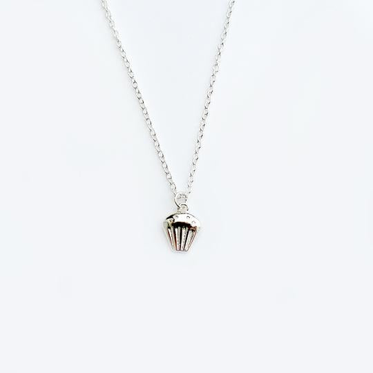 Lucky Feather Best Teacher Necklace - Cupcake