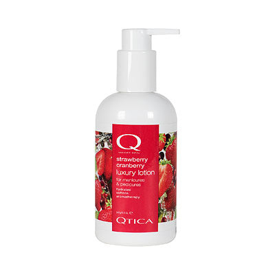 Qtica Smart Spa Strawberry Cranberry Luxury Lotion