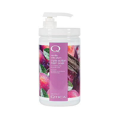 Qtica Smart Spa Vanilla Wild Plum Triple-Action Fresh Soak - 32 oz