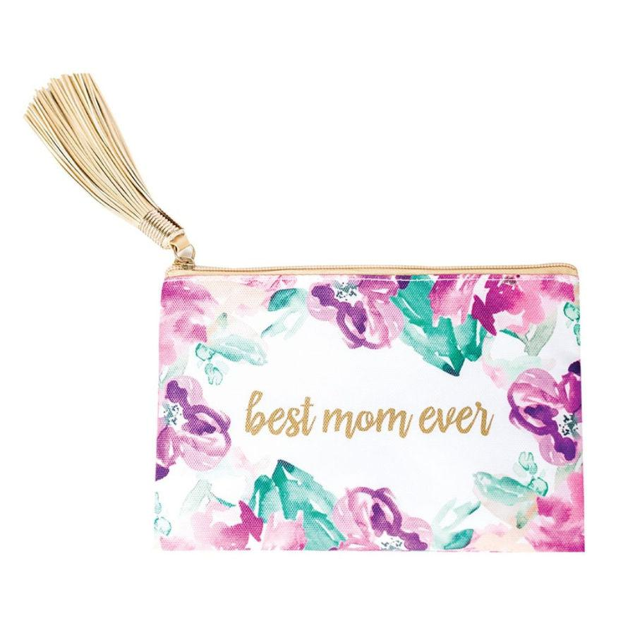 Best Mom Ever Zipper Pouch