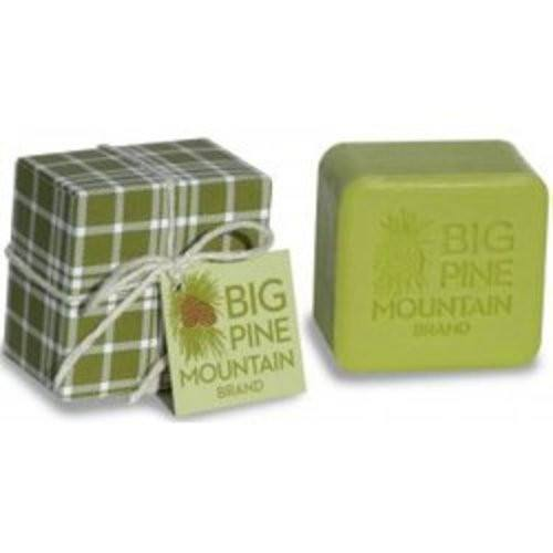 Big Pine Mountain Hand Wrapped Green Plaid Soap - 5.8 oz-KalaStyle-BeautyOfASite | Beauty, Fashion & Gourmet Boutique