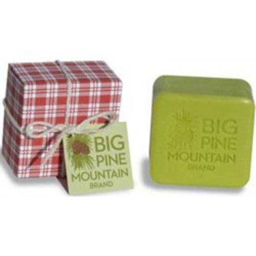 Big Pine Mountain Hand Wrapped Red Plaid Soap - 5.8 oz-KalaStyle-BeautyOfASite | Beauty, Fashion & Gourmet Boutique