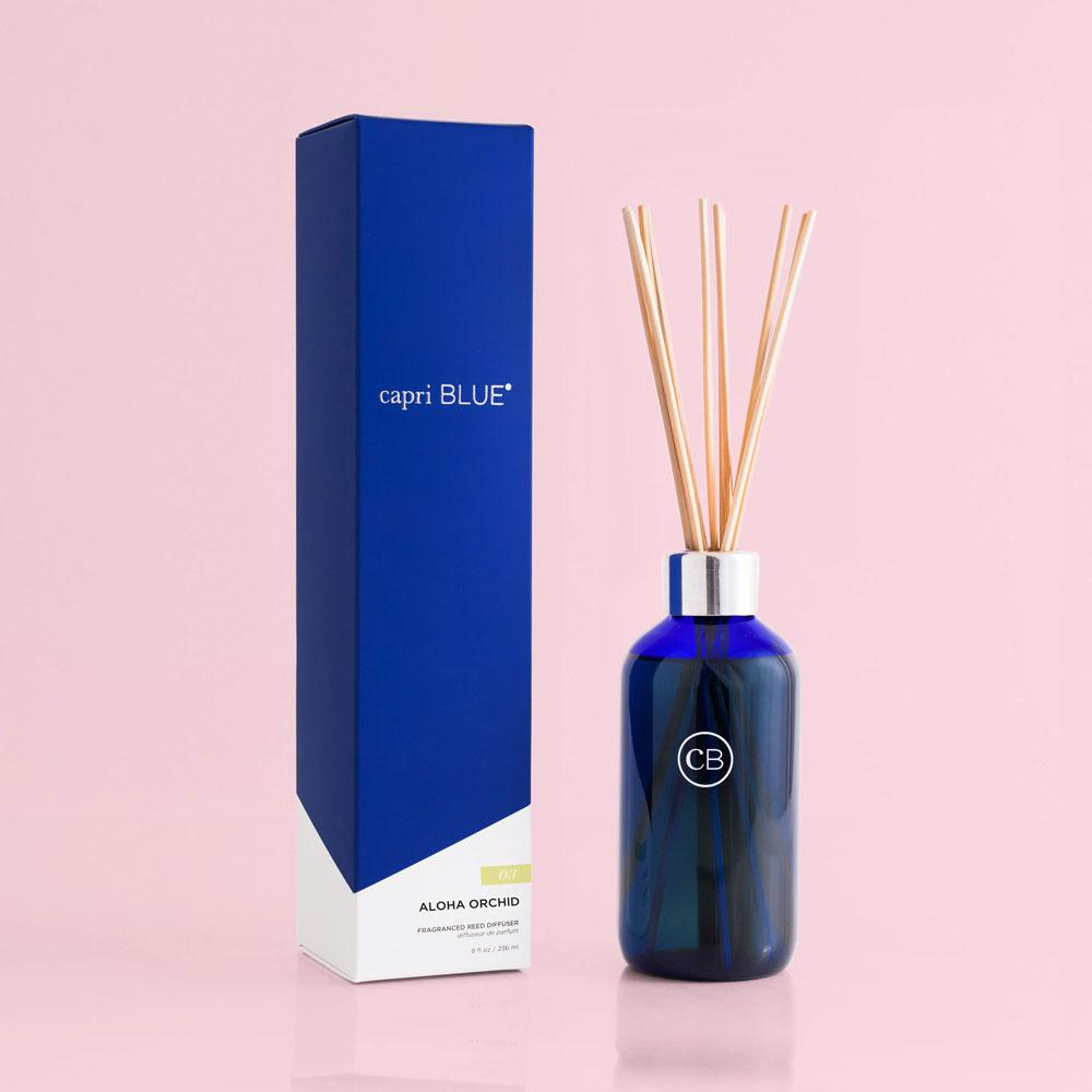 Capri Blue Aloha Orchid Reed Diffuser-Capri Blue-BeautyOfASite | Beauty, Fashion & Gourmet Boutique