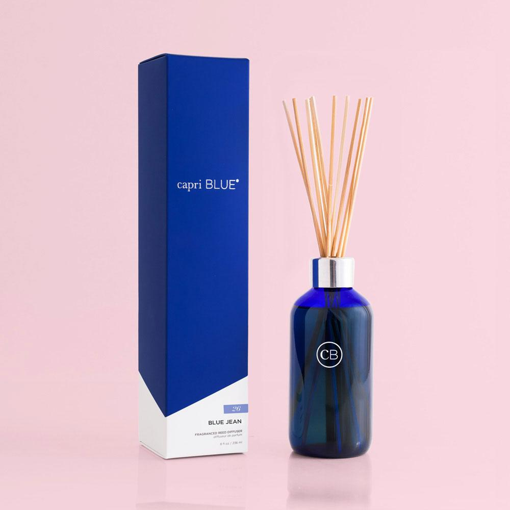 Capri Blue Blue Jean Reed Diffuser-Capri Blue-BeautyOfASite | Beauty, Fashion & Gourmet Boutique