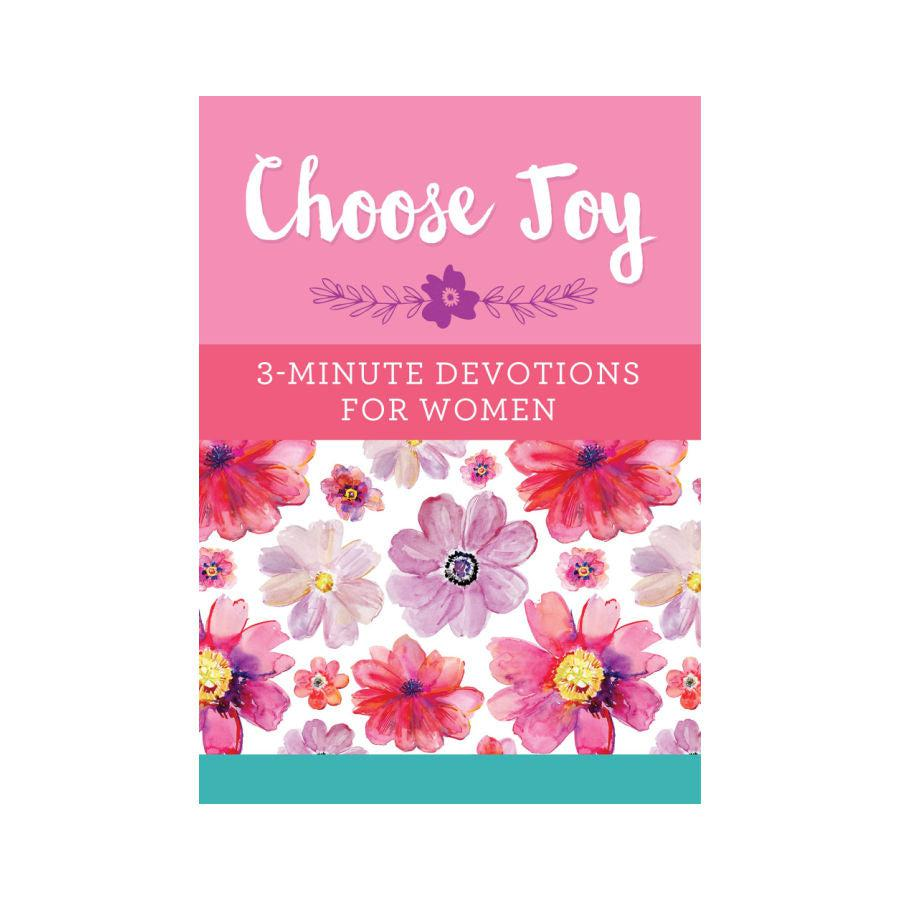 3-Minute Devotions for Women - Choose Joy