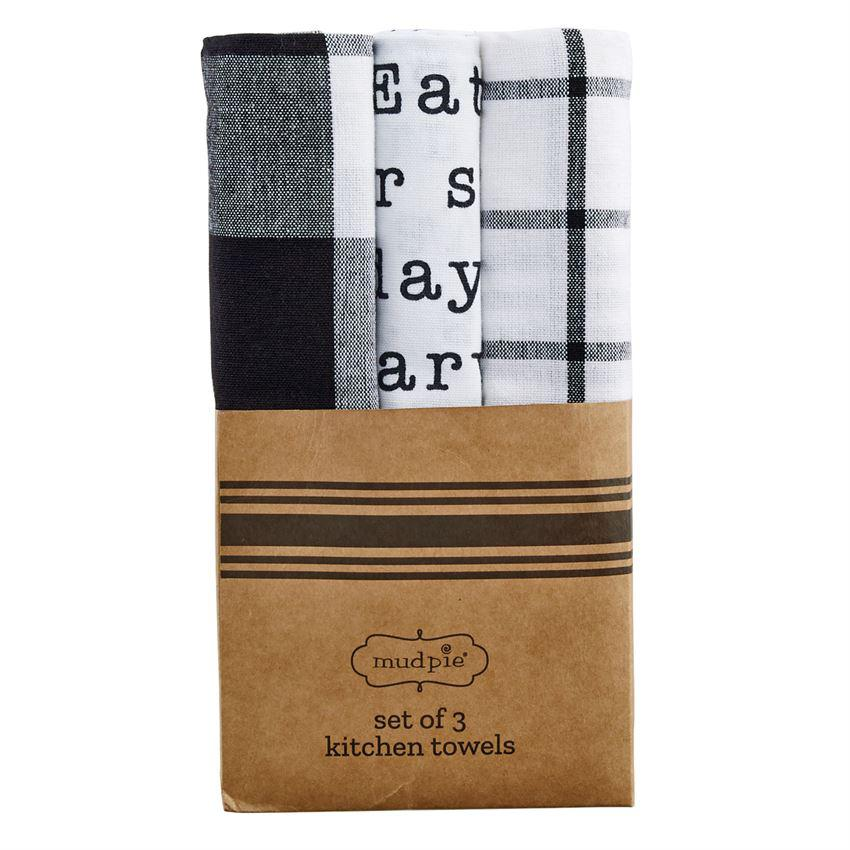 Mud Pie Circa Dish Towel Sets