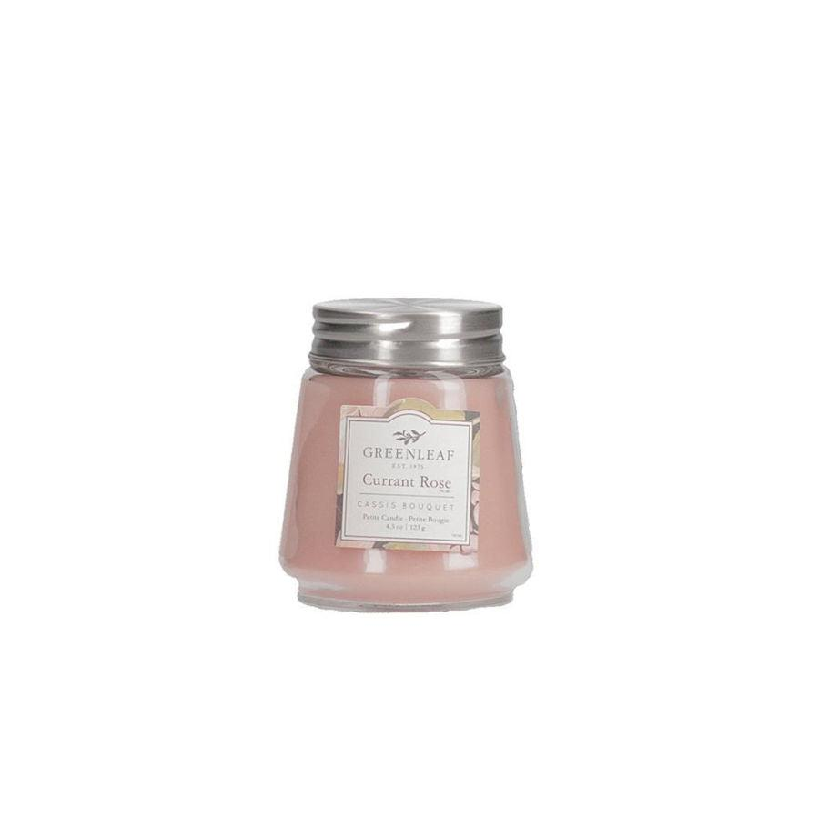 Greenleaf Petite Candle - Currant Rose