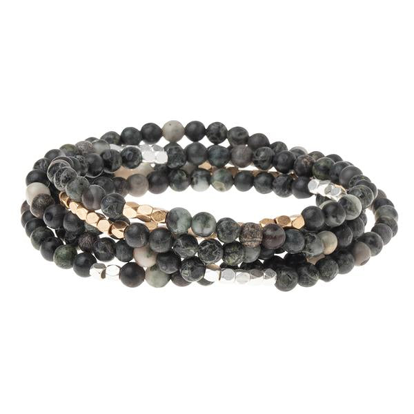Scout Curated Wears Stone Wrap Bracelet/Necklace - Kambaba Jasper