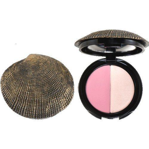 DuWop Cosmetics Isla Sirena Sea Shell Compact Cheek Dual-DuWop Cosmetics-BeautyOfASite | Beauty, Fashion & Gourmet Boutique
