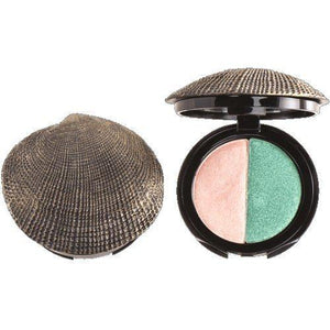 DuWop Cosmetics Isla Sirena Sea Shell Compact Eye Dual-DuWop Cosmetics-BeautyOfASite | Beauty, Fashion & Gourmet Boutique
