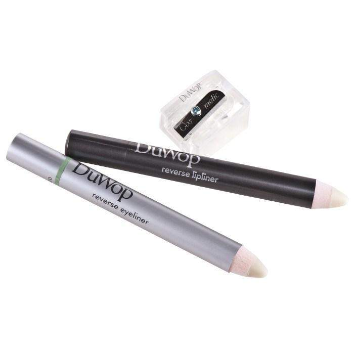 DuWop Cosmetics Reverse Time Lipliner & Eyeliner Duo - Nude-DuWop Cosmetics-BeautyOfASite | Beauty, Fashion & Gourmet Boutique
