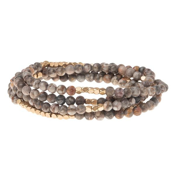 Scout Curated Wears Stone Wrap Bracelet/Necklace - Rhyolite
