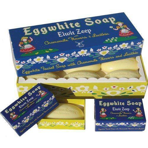 Eggwhite And Chamomile Flower Soap - Set of Six-KalaStyle-BeautyOfASite | Beauty, Fashion & Gourmet Boutique