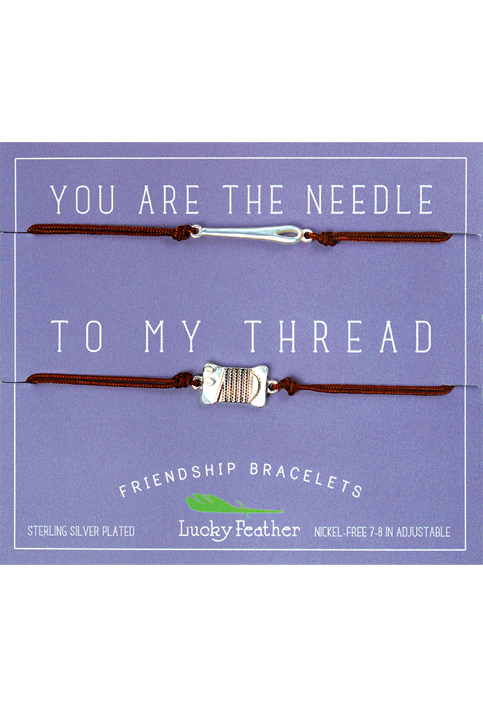 Friendship Bracelet Set-Lucky Feather-BeautyOfASite | Beauty, Fashion & Gourmet Boutique