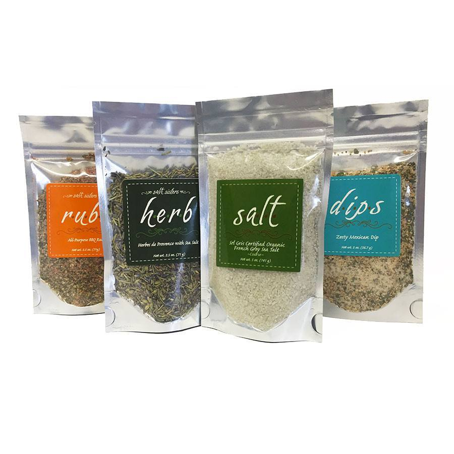 Gourmet Basket-Salt Sisters-BeautyOfASite | Beauty, Fashion & Gourmet Boutique