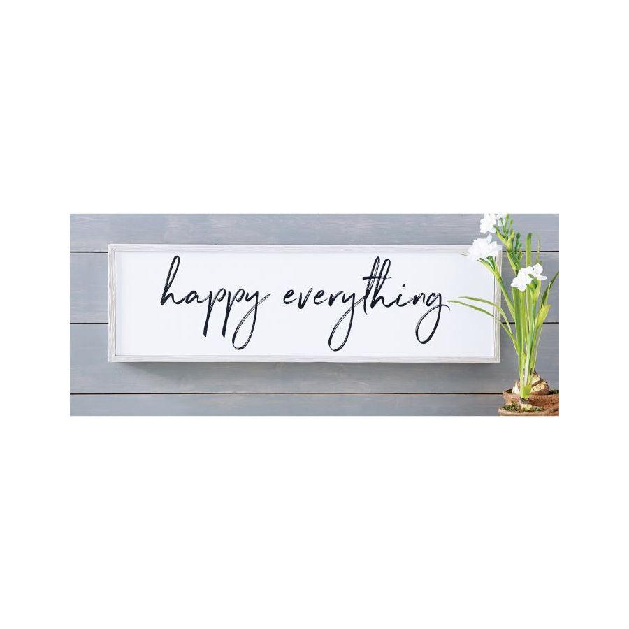 Mud Pie Happy Everything Wall Art