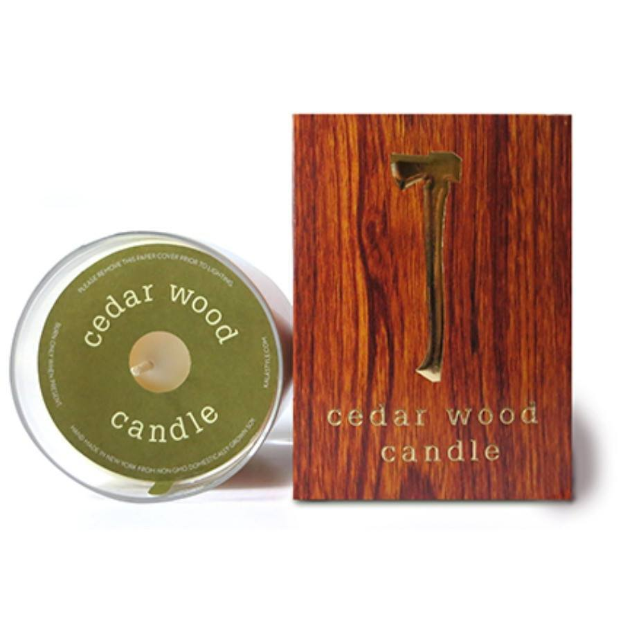 Kalastyle Cedar Wood Candle - 10 oz-KalaStyle-BeautyOfASite | Beauty, Fashion & Gourmet Boutique