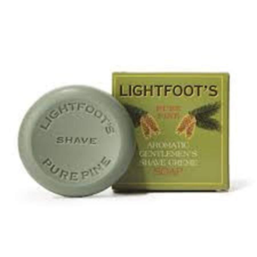 Lightfoot's Shave Soap - 2.8 oz Bar-Lightfoot's-BeautyOfASite | Beauty, Fashion & Gourmet Boutique