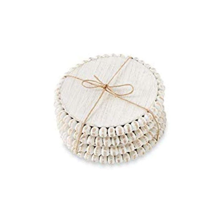 Mud Pie Beaded Coasters - Crane/Boerma Registry