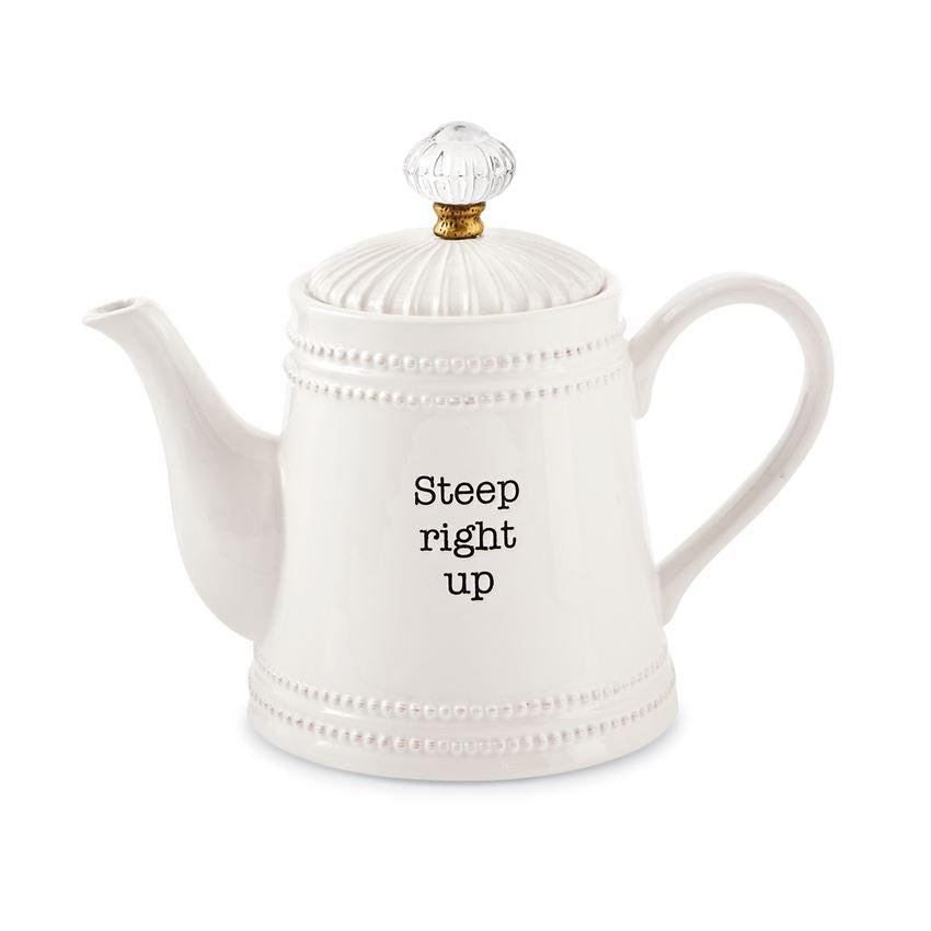 Mud Pie Door Knob Teapot - Crane/Boerma Registry