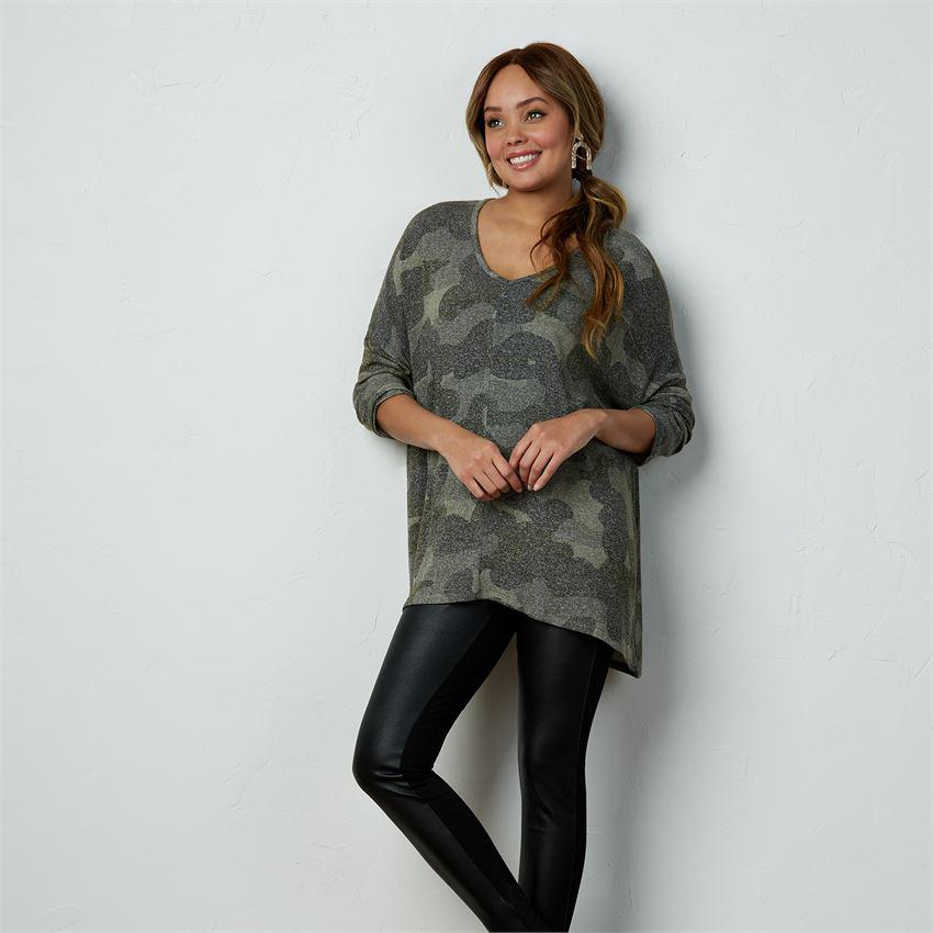 Mud Pie Elsie Tunic - Camo