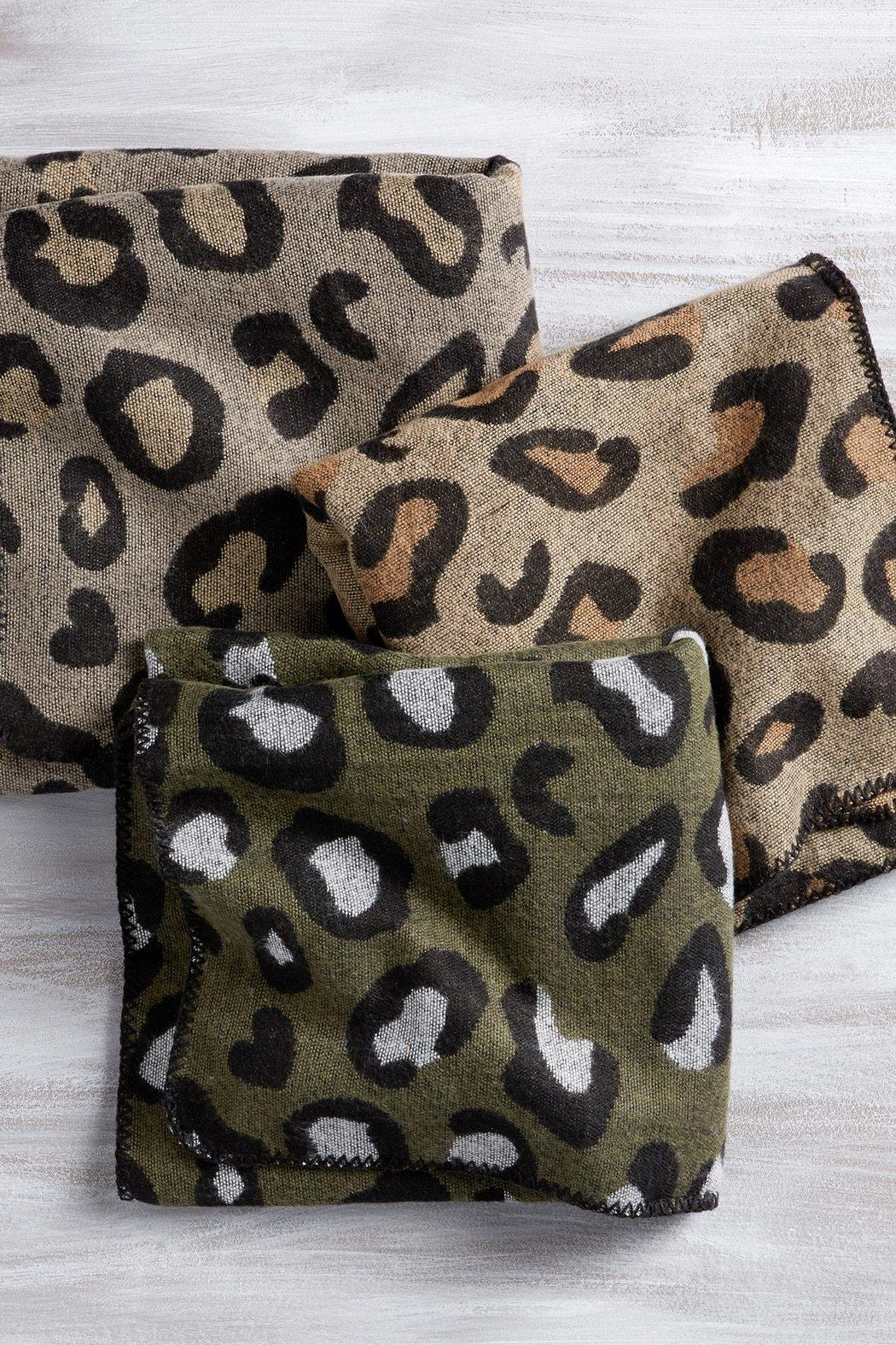 Mud Pie Leopard Wrap