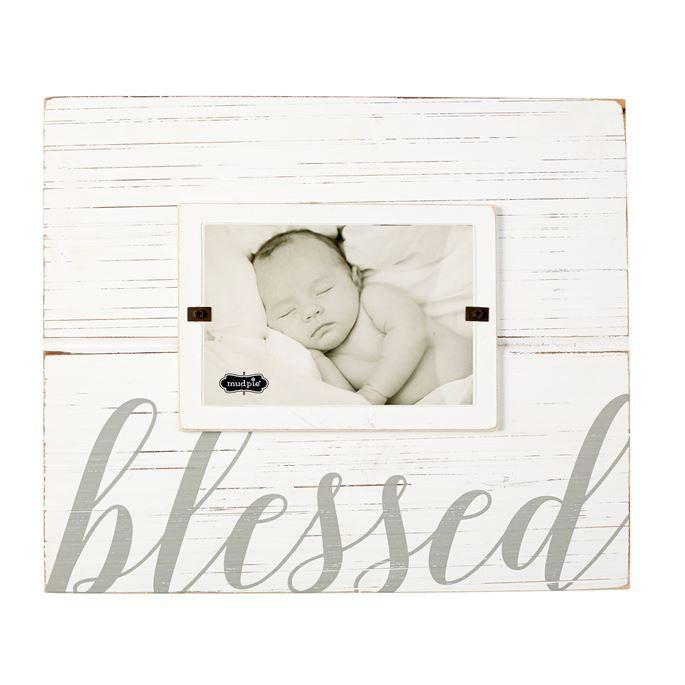 Mud Pie Blessed Frame-Mud Pie-BeautyOfASite | Beauty, Fashion & Gourmet Boutique