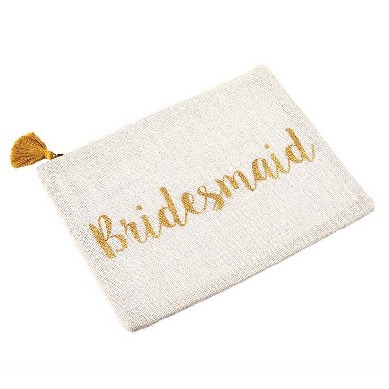 Mud Pie Bridesmaid Carry-All Case-Mud Pie-BeautyOfASite | Beauty, Fashion & Gourmet Boutique