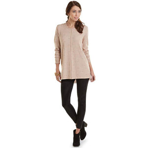 Mud Pie Camilla Sweater Tunic - Tan-Mud Pie-BeautyOfASite | Beauty, Fashion & Gourmet Boutique