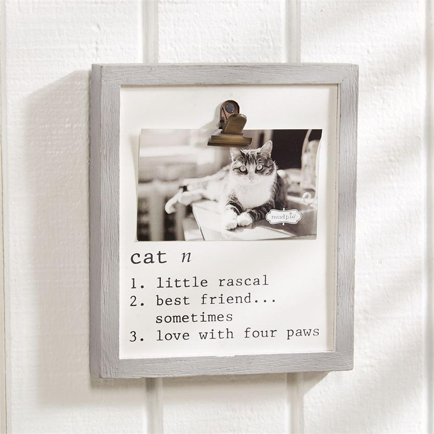 Mud Pie Cat Definition Frame-Mud Pie-BeautyOfASite | Beauty, Fashion & Gourmet Boutique