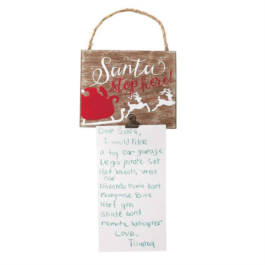 Mud Pie Christmas List Plaques-Mud Pie-BeautyOfASite | Beauty, Fashion & Gourmet Boutique