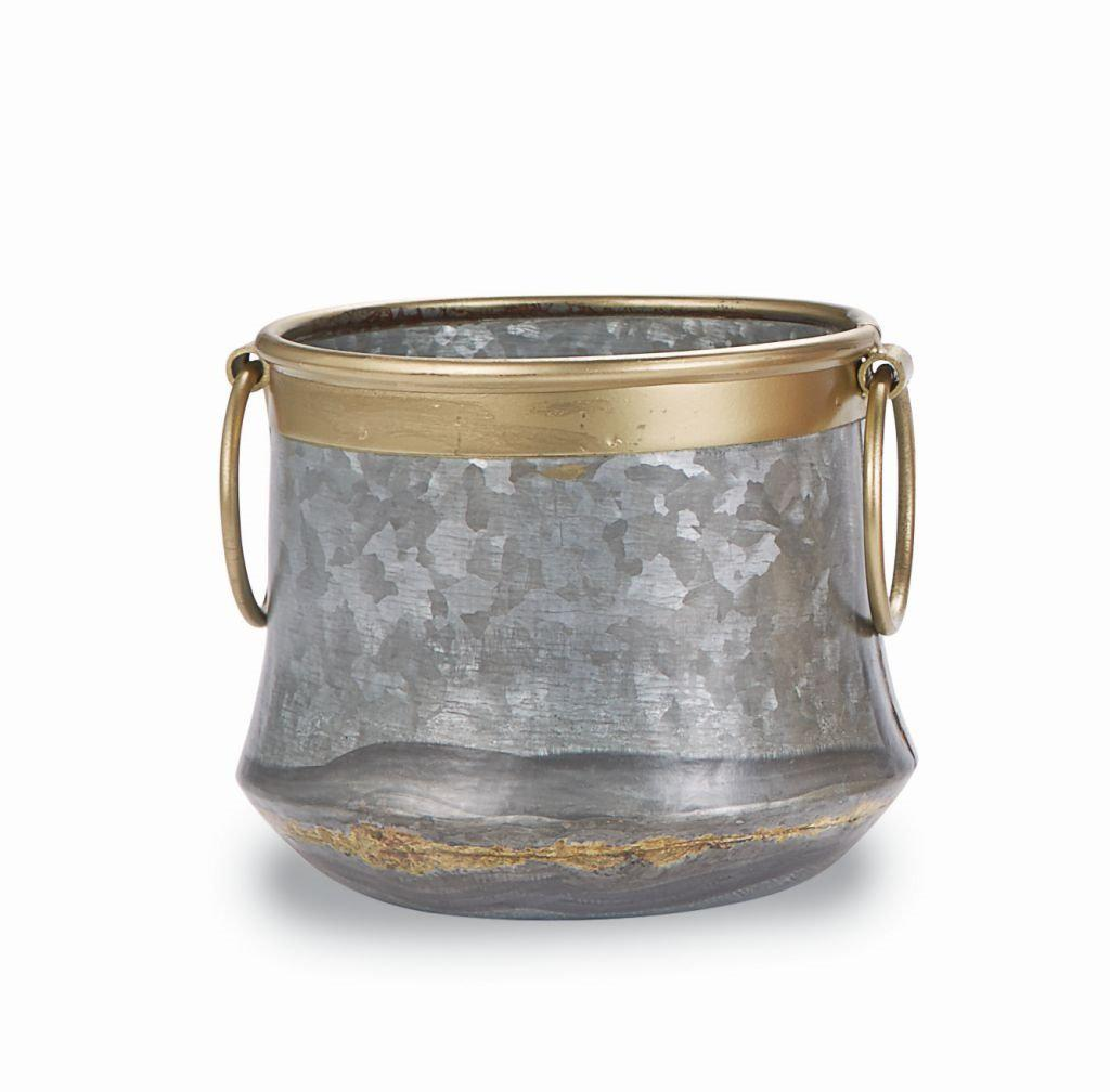 Mud Pie Copper & Brass Tin Pots-Mud Pie-BeautyOfASite | Beauty, Fashion & Gourmet Boutique