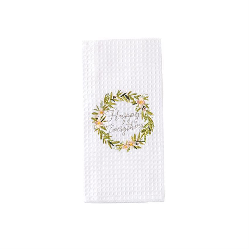 Mud Pie Easter Waffle Hand Towel-Mud Pie-BeautyOfASite | Beauty, Fashion & Gourmet Boutique