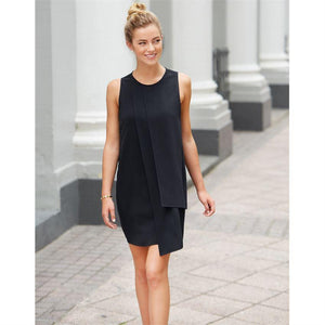 Mud Pie Elizabeth Panel Shift Dress - Black-Mud Pie-BeautyOfASite | Beauty, Fashion & Gourmet Boutique
