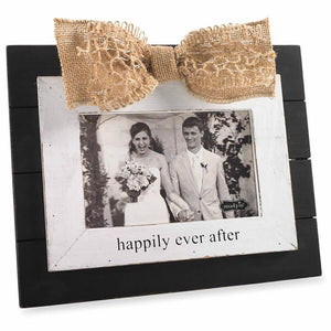 Mud Pie Happily Ever After Frame-Mud Pie-BeautyOfASite | Beauty, Fashion & Gourmet Boutique