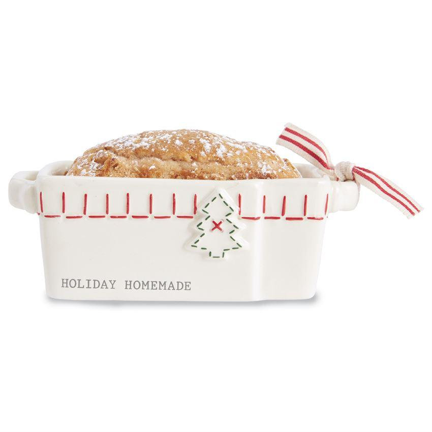 Mud Pie Holiday Mini Loaf Pan-Mud Pie-BeautyOfASite | Beauty, Fashion & Gourmet Boutique